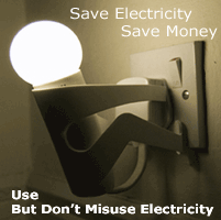 Save Electricity Save Money