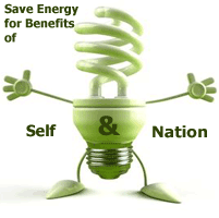 Save Energy for Self & Nation