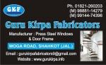 Guru Kirpa Fabricators Shahkot