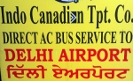 Indo Canadian Bus Service to Delhi Airport