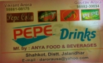 PEPE Drinks - Anya Food and Beverages